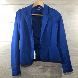 NWT H&M's Divided Blue Blazer Size 4